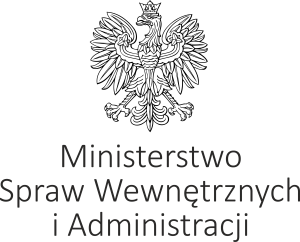 Logo Ministerstwa Spraw Wewnętrznych iAdministracji